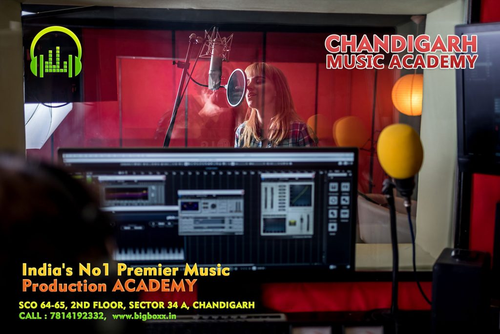 Music Production and Sound Engineering Diploma Course in Chandigarh and Punjab